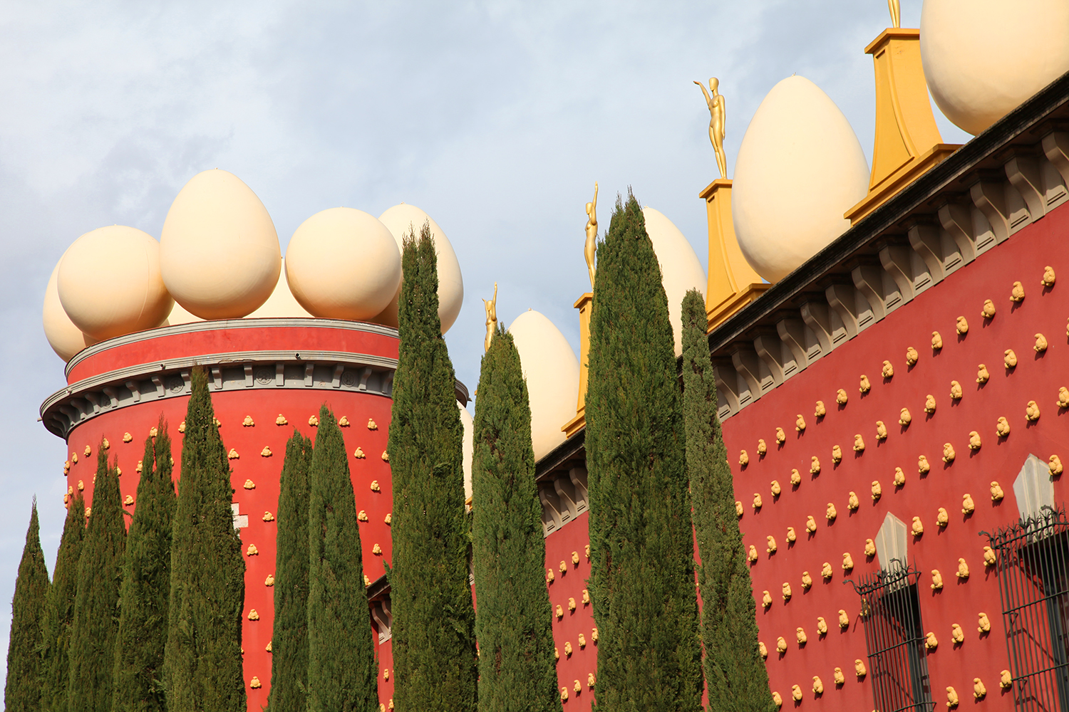 Visiting the Dalí Museum in Figueras, Spain  One of the 50